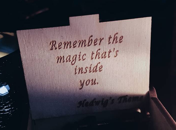 Harry Potter Quote, Help people embrace sensitivity because it's part of what makes a person magic